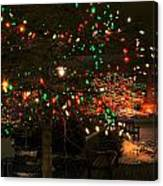 007 Christmas Light Show At Roswell Series Canvas Print