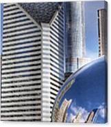 0077 Millennium Park Chicago Canvas Print