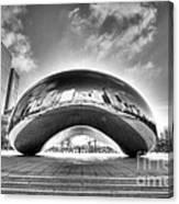 0079 The Bean - Millennium Park Chicago Canvas Print