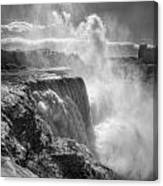 007a Niagara Falls Winter Wonderland Series Canvas Print