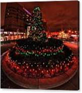 009 Christmas Light Show At Roswell Series Canvas Print