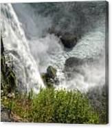 009 Niagara Falls Misty Blue Series Canvas Print