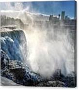 009 Niagara Falls Winter Wonderland Series Canvas Print