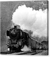 01 150 On Tracks In Franconia Canvas Print