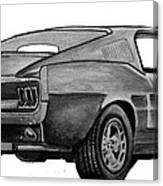010-stang Canvas Print