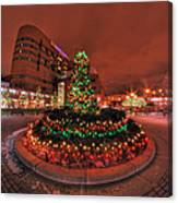 012 Christmas Light Show At Roswell Series Canvas Print