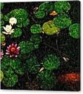 0148-lily -   Pastel Pencil Sl Canvas Print