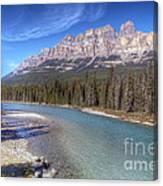 0149 Castle Mountain Canvas Print