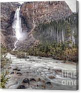 0163 Takakkaw Falls Canvas Print
