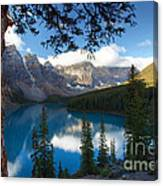 0164 Moraine Lake Canvas Print