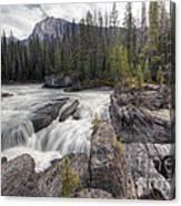 0182 Natural Bridge Waterfall Canvas Print
