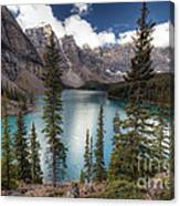 0184 Moraine Lake Canvas Print