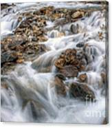 0190 Glacial Runoff 2 Canvas Print