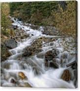 0192 Glacial Runoff Canvas Print
