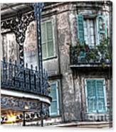0275 New Orleans Balconies Canvas Print