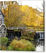 0289 Hyde's Mill Wisconsin Canvas Print