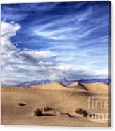 0292 Death Valley Sand Dunes Canvas Print