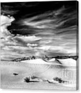 0293 Death Valley Sand Dunes Canvas Print