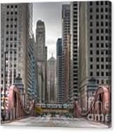 0295 Lasalle Street Chicago Canvas Print