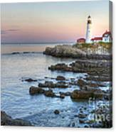 0312 Portland Head Lighthouse Canvas Print