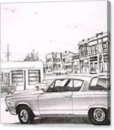 035-cuda Canvas Print