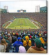 0350 Lambeau Field Canvas Print