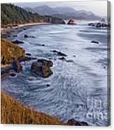 0412 Indian Beach  Canvas Print