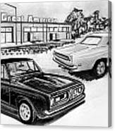 042-grt American Canvas Print