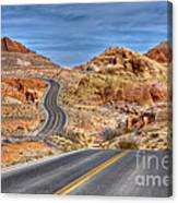 0445 Valley Of Fire Nevada Canvas Print