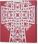 045 Butterfly-cross Canvas Print