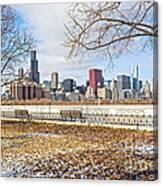0452 Chicago Skyline Canvas Print