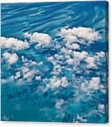 0459 Above The Caribbean Canvas Print
