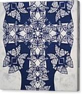 046 Butterfly-cross  Canvas Print
