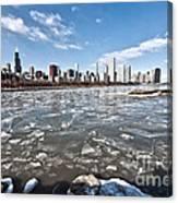 0486 Chicago Skyline Canvas Print