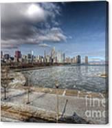0488 Chicago Skyline Canvas Print