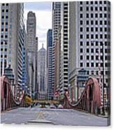 0525 Lasalle Street Bridge Chicago Canvas Print