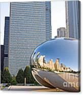 0553 Millennium Park Chicago Canvas Print