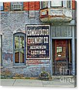 0605 Old Foundry Building Canvas Print