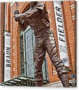0620 Hank Aaron Statue Canvas Print
