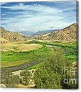 0636 Kings Canyon National Park Canvas Print