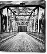 0648 Bow River Bridge Canvas Print