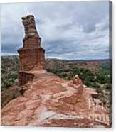 07.30.14 Palo Duro Canyon - Lighthouse Trail 47e Canvas Print