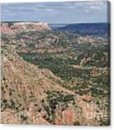 07.30.14 Palo Duro Canyon - Lighthouse Trail 5e Canvas Print