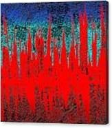 0738 Abstract Thought Canvas Print
