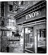 0748 Uno's Pizzaria Canvas Print