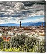 0753 Florence Italy Canvas Print