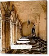 0758 Doge Palace - Venice Italy Canvas Print