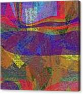 0781 Abstract Thought Canvas Print
