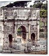 0793 Arch Of Constantine Canvas Print
