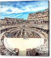 0795 Roman Colosseum Canvas Print